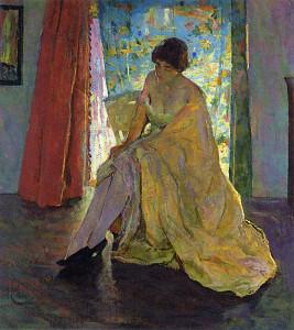 """Impressionist Figure"" - 36"" x 32"" - Oil"