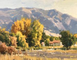 "John Poon - ""Fall Colors"" - 11"" x 14"" - Oil"