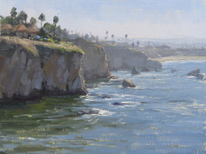 "Kathleen Dunphy - ""Looking Towards Pismo"" - 12"" x 16"" - Oil"