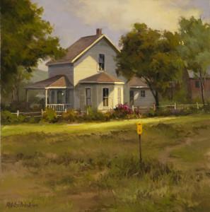 """""""Country Living"""" - 16"""" x 16"""" - Oil (Framed: 23"""" x 23"""") - $3400.00."""