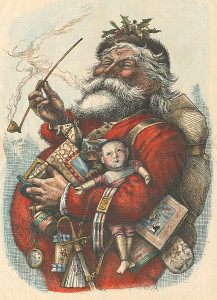 Thomas Nast's 1862 version of Santa